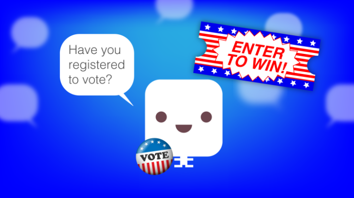 chatbot-voting-sweepstakes